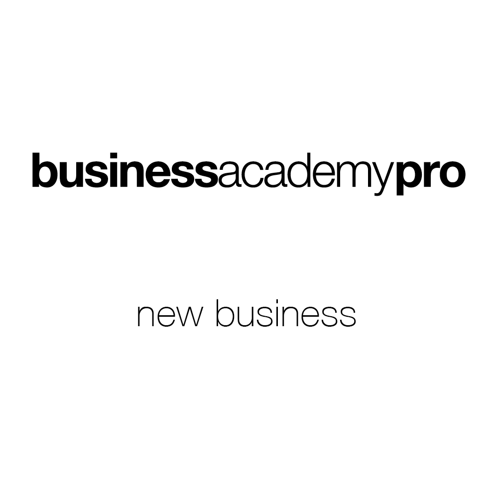 business academy commercial/new business
